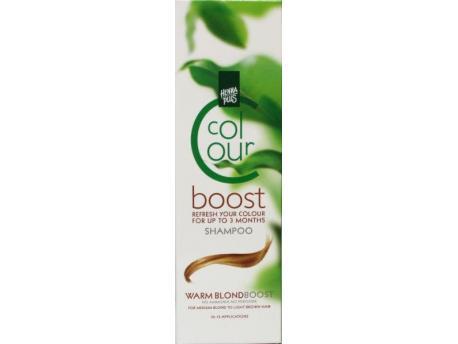 Henna Plus Colour boost warm blonde 200ml