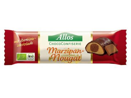 Allos Chococonfiserie marzipan/nougat 35g