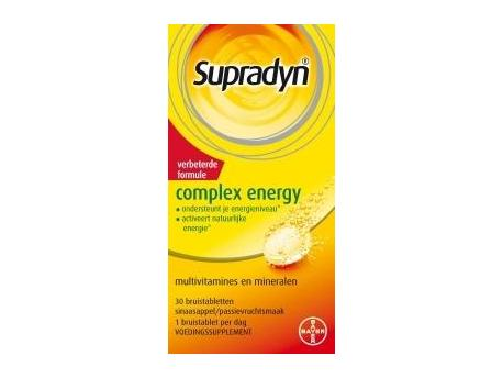 Supradyn Complex energy 30brt