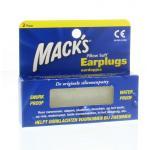 Macks Earplugs 4st