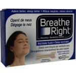 Breathe Right Neusstrips tanned large 10st