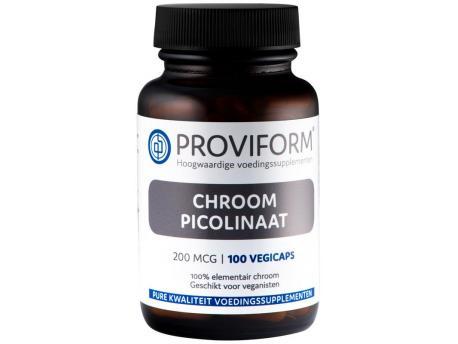 Proviform Chroom picolinaat 200mcg 100cap