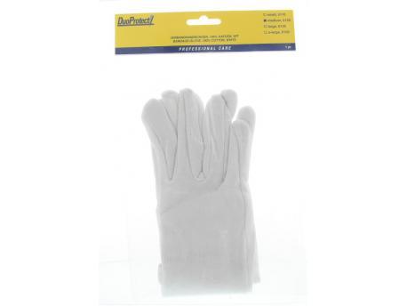Handschoen katoen medium