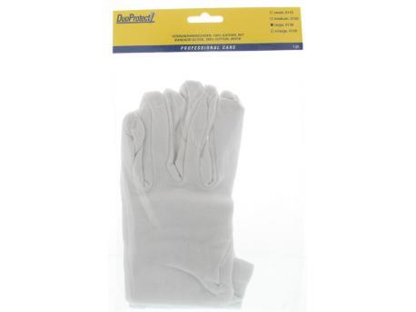 Duoprotect Handschoen katoen large 1paar