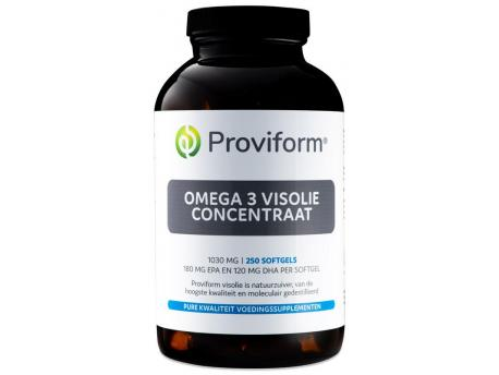 Proviform Omega 3 fish oil concentrate 1000mg 250sft