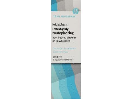 Leidapharm Zoutoplossing 15ml