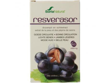 Soria Resverasor opc 's 600mg 60tab