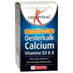 Lucovitaal Oyster Lime calcium tablets 100tab