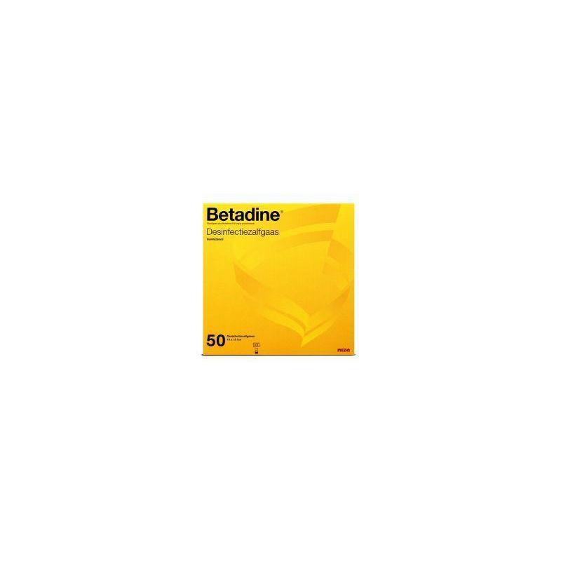 Afbeelding van Betadine Desinfecterende zalfgazen 50st