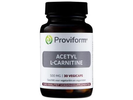 Proviform Acetyl L-carnitine 500 mg 30vc