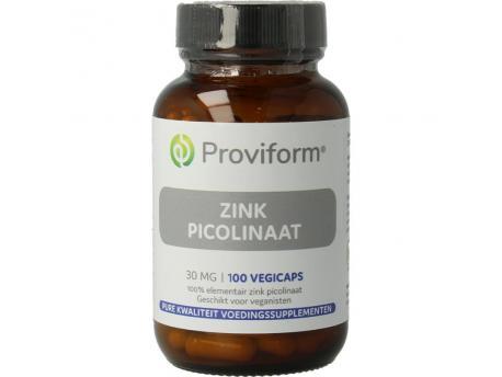 Proviform Zink picolinaat 30 mg 100cap
