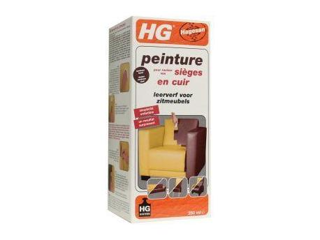 HG Leather Paint furniture Bordeaux Red 250ml