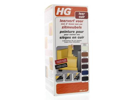 HG Leather Paint furniture Creamwhite 250ml