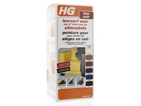 HG Leather Paint furniture dark brown 250ml