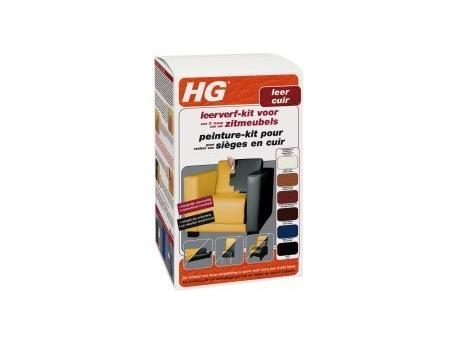 HG Leather paint kit furniture Bordeaux Red 700ml