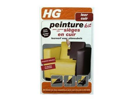 HG Leather paint kit furniture dark brown 700ml