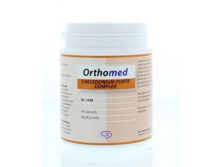Orthomed Cheledonium forte 90cap