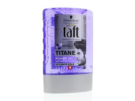 taft titane power gel tottle 300ml