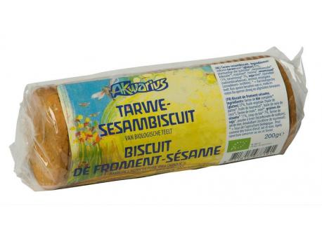 Akwarius Wheat-sesame biskwie 200g