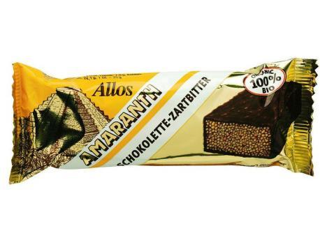 Allos Chocolette puur amarant 25g