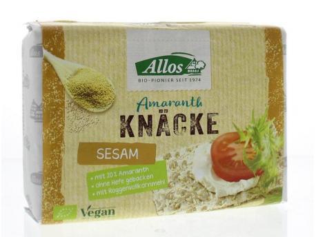 Allos Knackebrod Sesame-amarant 250g