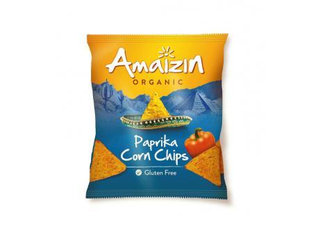 Amaizin Corn chips paprika bio 75g