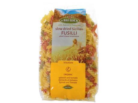 Bioidea Fusilli tricolore spirelli 500g