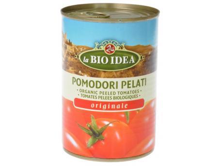 Bioidea Tomaten gepeld (blik) 400g