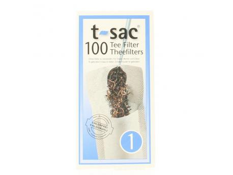 T-Sac Theefilters no. 1 100st