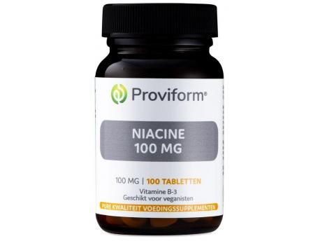 Proviform Vitamine B3 niacine 100 mg 100tab