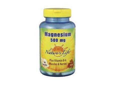 Natures Life Magnesium 500mg 180cap