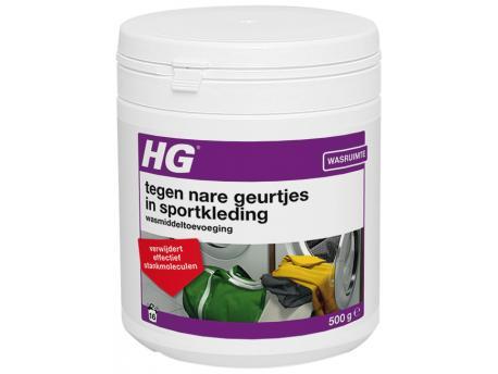 HG Wasmiddel toevoeging nare geurtjes sportkleding 500g