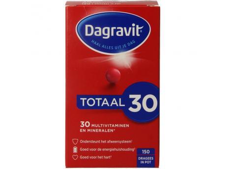 Dagravit Totaal 30 dispenser navul 150st 150dr
