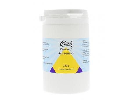 Clark Vitamine C Ascorbinezuur 250g