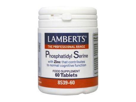 Lamberts Phosphatidyl Serine met zink 100mg 60tab