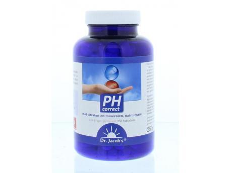 DR. Jacob's Holisan PH Correct tabletten 250tab