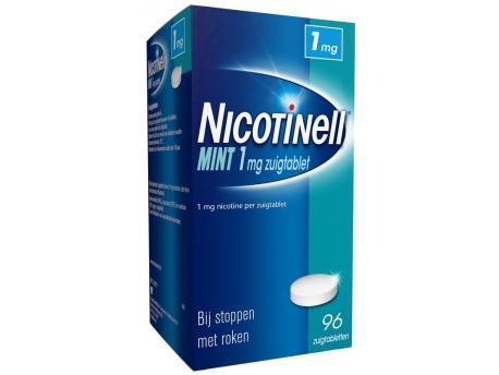 Nicotinell Zuigtablet 1mg 96stuks