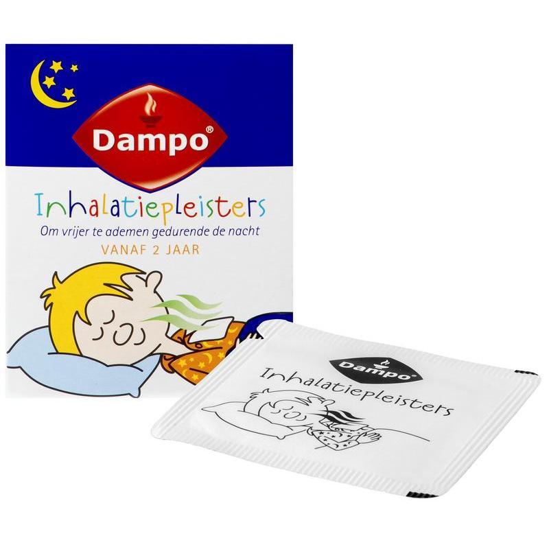 Afbeelding van Dampo Inhalatiepleisters 6sach