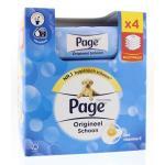Vochtig toiletpapier navul fresh 4-pack