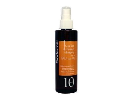 Biodermal Sun Tan & Protect oil spray SPF10 200ml