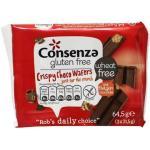 Consenza Crispy choco wafers 64.5g
