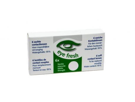 Eyefresh 1 Maand lens 6-pack -4.50