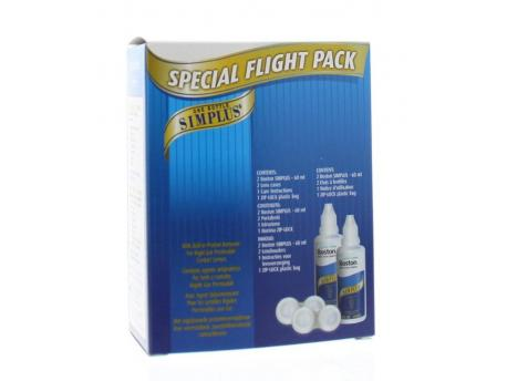 Boston Simplus flight pack 2x60ml
