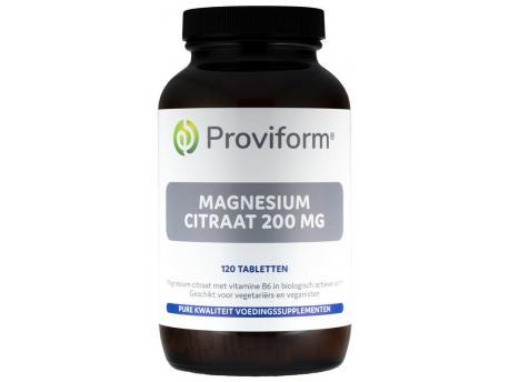 Proviform Magnesium citraat 200 mg & B6 120tab