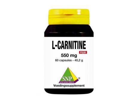 SNP L Carnitine 550 mg pure 60cap