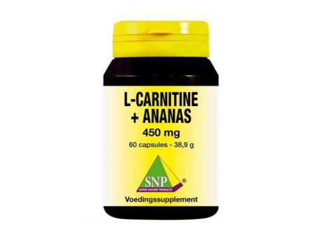 SNP L Carnitine pineapple 450 mg 60cap