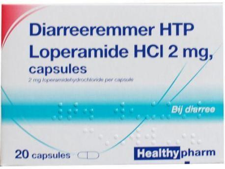 Healthypharm Loperamide 2 mg diarrhea inhibitor 20cap