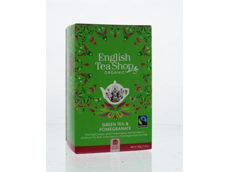English Tea Shop Green tea pomegranate 20bt