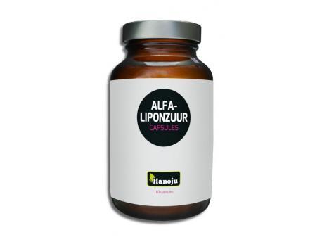 Hanoju Alfa liponzuur 400 mg 180vc