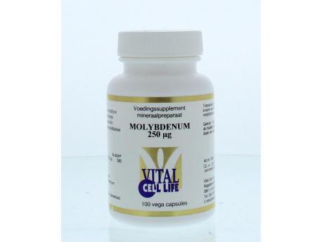 Vital Cell Life Molybdenum 250 mcg 100cap